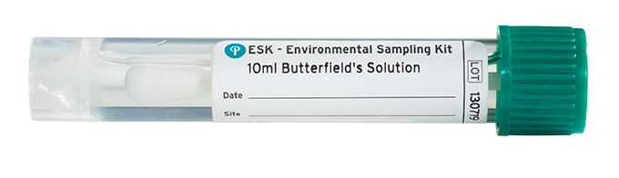Puritan ESK Sampling Kit - 10ml Butterfield's Solution