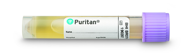 Puritan BHI Transport Medium, 3ml