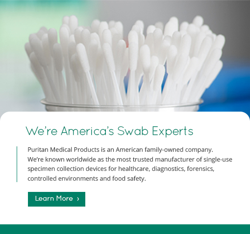 We're America's Swab Experts
