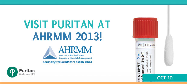 Puritan at 2013 Association for Healthcare Resource Materials Management